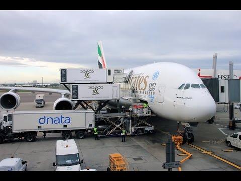 Emirates   Airbus A380   LHR-DXB   Economy
