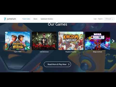 [ICO] Yumerium - Обзор игровой блокчейн-платформы