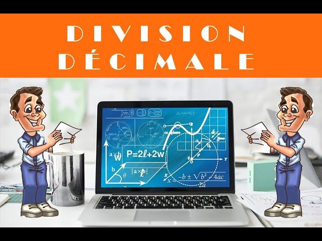 DIVISION DECIMALE : corrigés exercices maths 6ème.