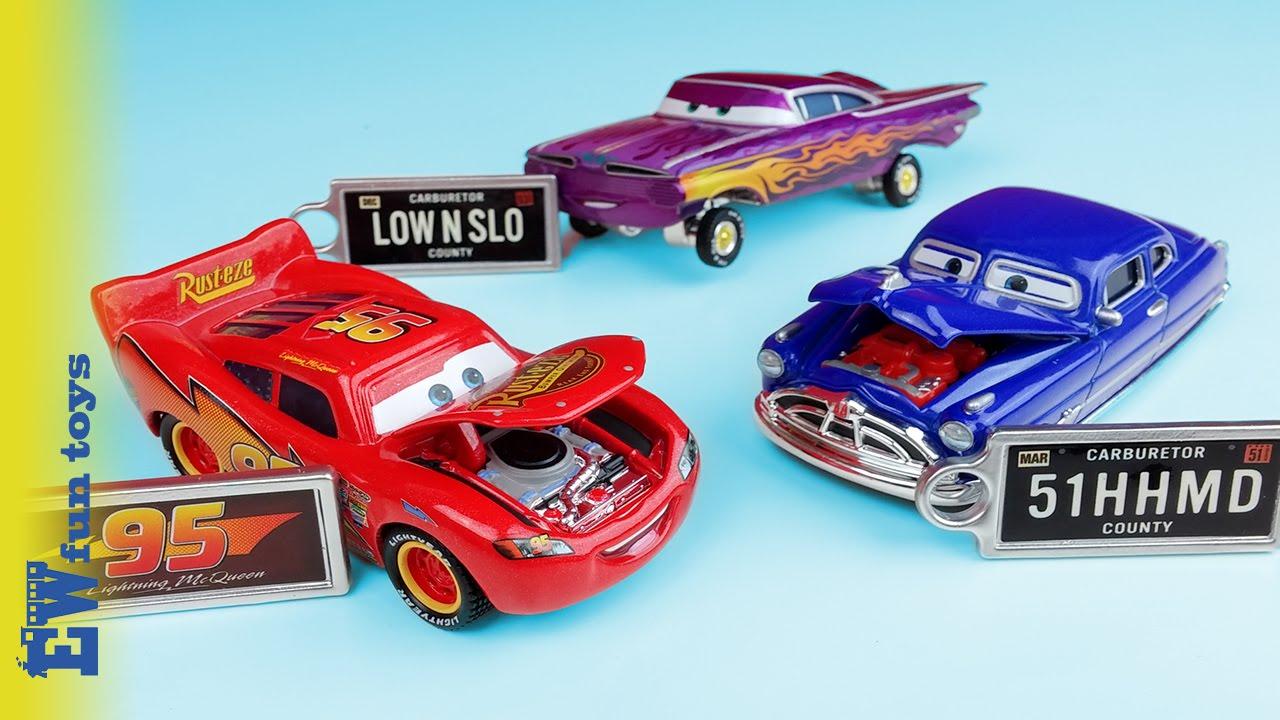 Disney Cars Diecast: Disney Pixar Cars Diecast Toys Part 13 Precision Series