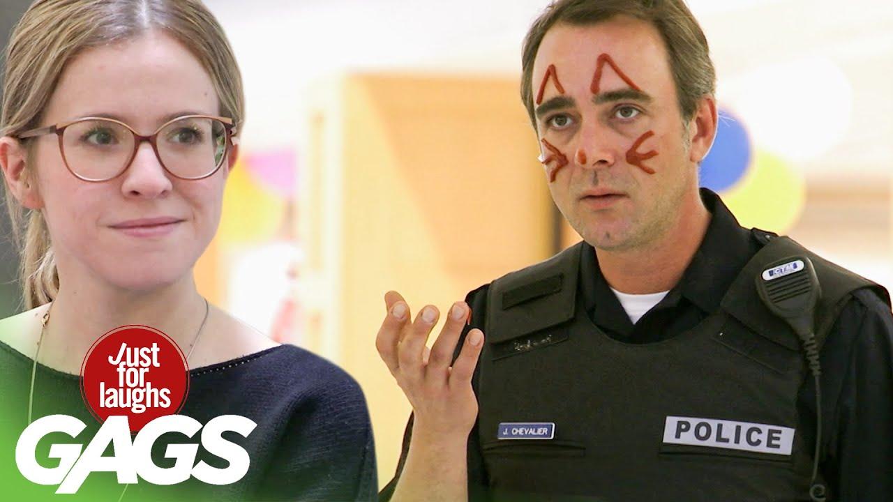 Police Officer Gets a Ketchup Makeover