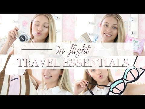 What's In My Plane Carry On/ In Flight Travel Essentials | Freddy My Love