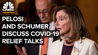 Pelosi and Schumer discuss latest developments in coronavirus relief talks — 8/7/2020