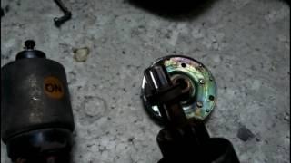 ремонт стартера шевроле авео.Замена втулок и щеток.