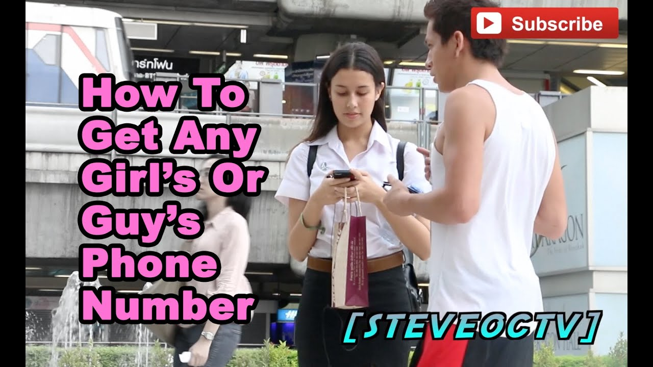 how to get a girls phone number online