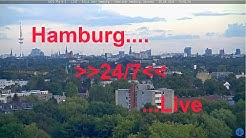 Axis P5414-E - LIVE - 24/7 - Blick über Hamburg / View over Hamburg, Germany