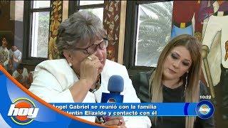 Valentín Elizalde hace contacto con su familia a través del médium Ángel Gabriel | Hoy