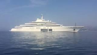 Mega Yacht Eclipse 533ft in Croatia 2016