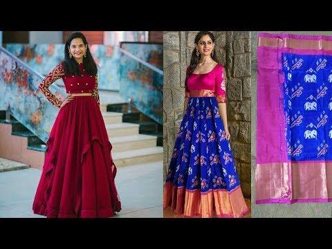 Indian Elegant Long Frock Designs 2019