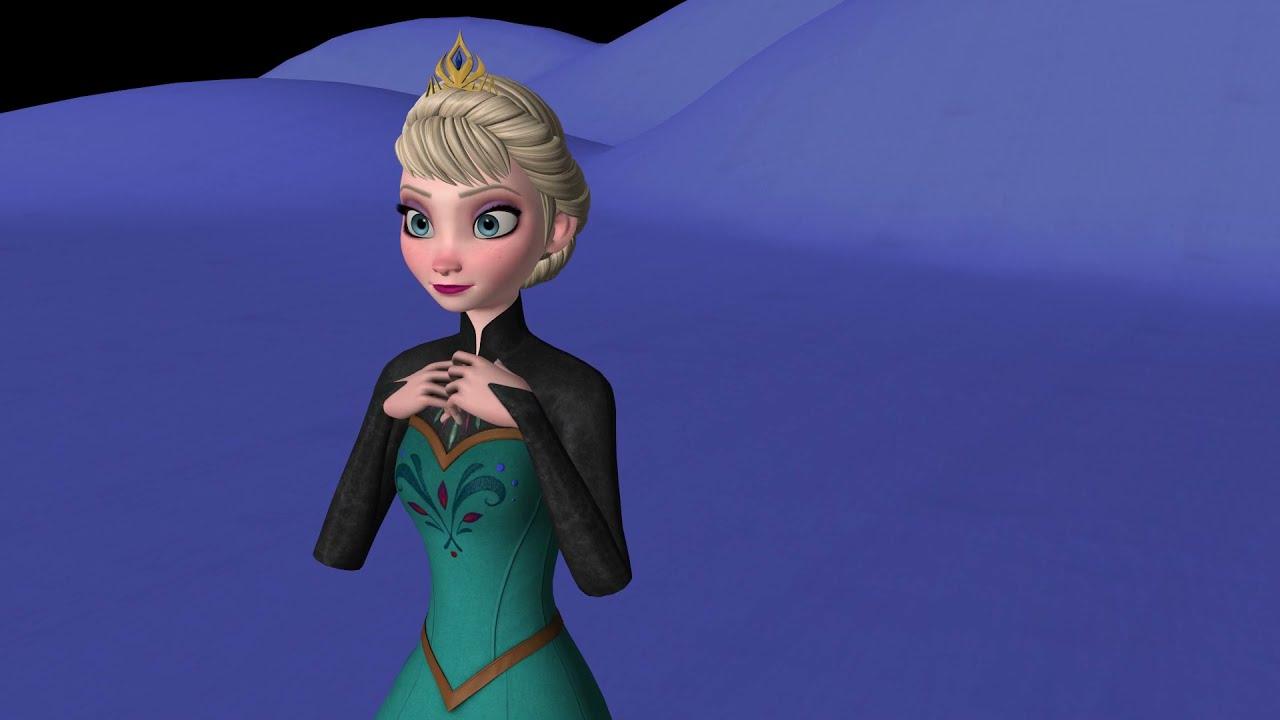 MMD - Idina Menzel - Let it Go ~ (Animation 2021 REMAKE)