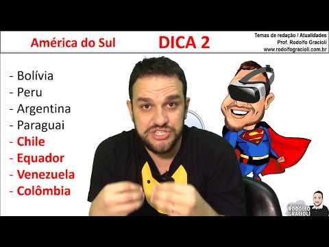 DICA 2 - América do Sul - TJ/SP (Atualidades)