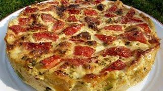 Пирог с сыром и шпинатом | рецепты с шпинатом |