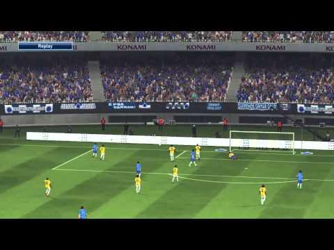 PES 2015 PS4 Partida incrível entre Cruzeiro e Chelsea - ganhei do real e perdi para este time.