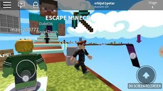 Minecraft parkur u Robloxu ROBLOX