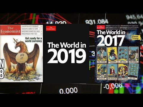Economist magazine the world in 2019 stock market crash