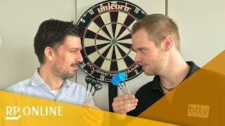 Deutschlands bester Darts-Spieler: Wir fordern Max Hopp zum Duell