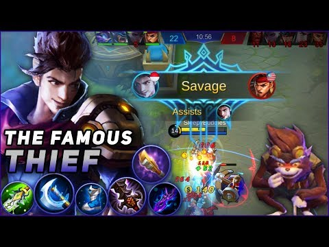 CLAUDE QUICK SAVAGE GAMEPLAY, With the New Gears! Mobile Legends