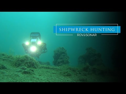 Shipwreck Hunting Using Underwater Drone Equipped with Sonar
