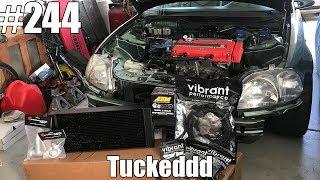 Tucking my new radiator! Speedfactory Tucked Radiator Install!