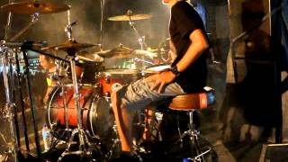 Monot (drum cam) with ANTIPOP GRINDCORE
