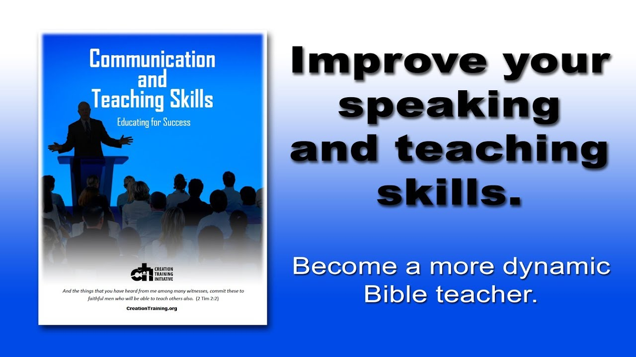 Communication and Teaching Skills - Creation Training