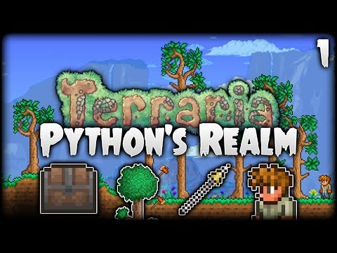 Terraria Let's Play (1.3.5) | THIS IS IT! The Adventure Begins! | Python's Realm [S2 - Episode 1]