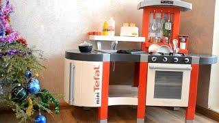 Обзор Детская кухня с водой Tefal Super Chef Smoby 24213(, 2015-08-01T13:14:18.000Z)