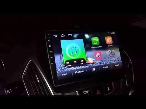 Hyundai IX35, магнитола 10.0 дюймов на Android 7.1 из Китая (в штатное место).