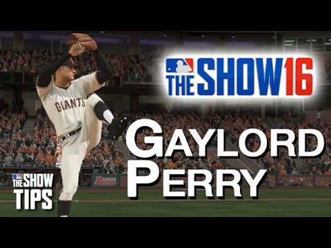 MLB The Show 16  - Gaylord Perry legend pitcher