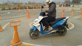 Scooter License Trial in Nepal