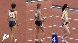 1600m relay! Track sisters who showed breathtaking reversal victory