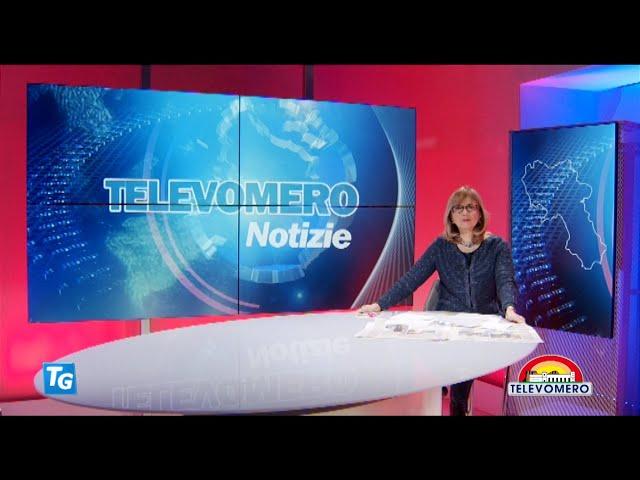 TELEVOMERO NOTIZIE 11 GENNAIO 2021 EDIZIONE DELLE 20 30