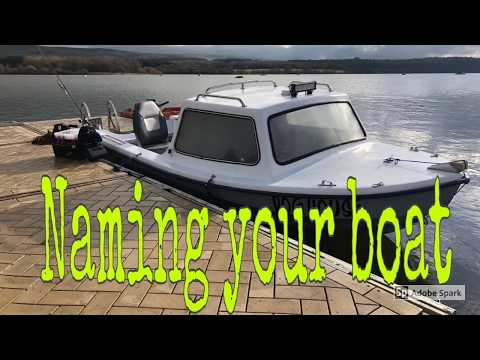 Naming My Boat - How To Name My Boat - Funny Boat Names - Fishing Boat