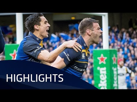 Leinster Rugby v Wasps (QF2) - Highlights – 01.04.2017