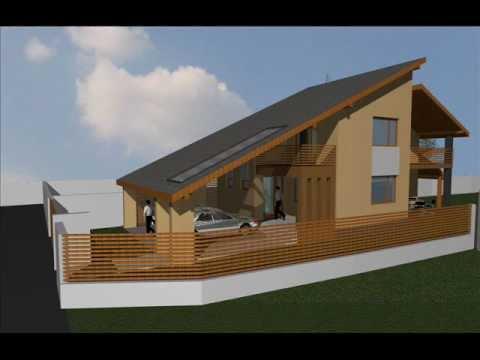 Proiecte case parter si mansarda modele case for Arhitectura case cu mansarda
