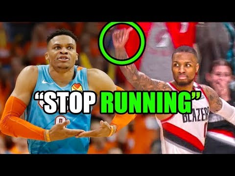 What You DONT Know About The Lillard & Westbrook NBA Rivalry (Ft. Playoffs, Trash Talk, & The Shot)