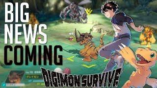BIG Digimon News Incoming! | Digimon Survive? New Digimon Story?