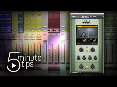 UAD Capitol Chambers — 5-Minute UAD Plug-In Tips