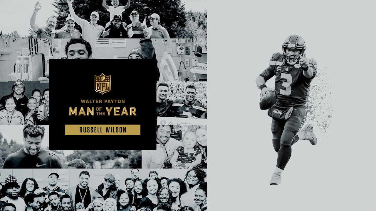 Russell Wilson Named Walter Payton NFL Man of the Year | Full Interview 2020 Seattle Seahawks