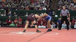 160 lbs Final 2012 OH Connor McMahon Stow vs Roy Daniels Liberty