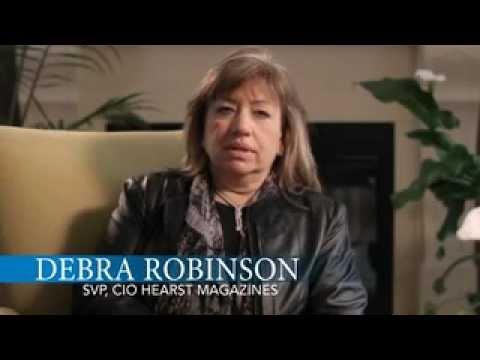 debra robinson svp cio hearst magazines shares her. Black Bedroom Furniture Sets. Home Design Ideas