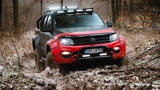 VW Amarok 4x4 Off Road Mud Performance Fail & Win Dangerous Behavior Amazing 2021