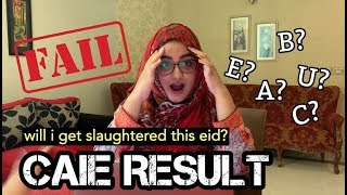OPENING MY O LEVEL CAIE RESULT LIVE REACTION 2019