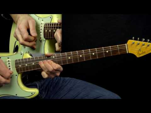 Gary Moore The Sky is Crying Lesson