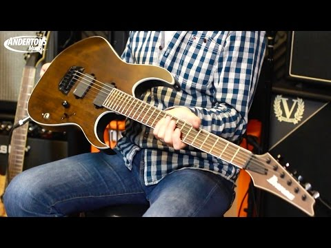 Ibanez New Guitars for 2015. Rob Djents - Capt Doesn