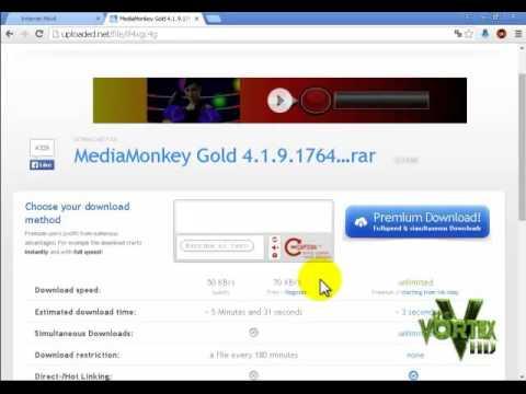 Como descargar MediaMonkey Gold v4 full en español gratis 2015