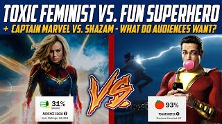 Captain Marvel vs. Captain Marvel - What Do Audiences Actually Want?
