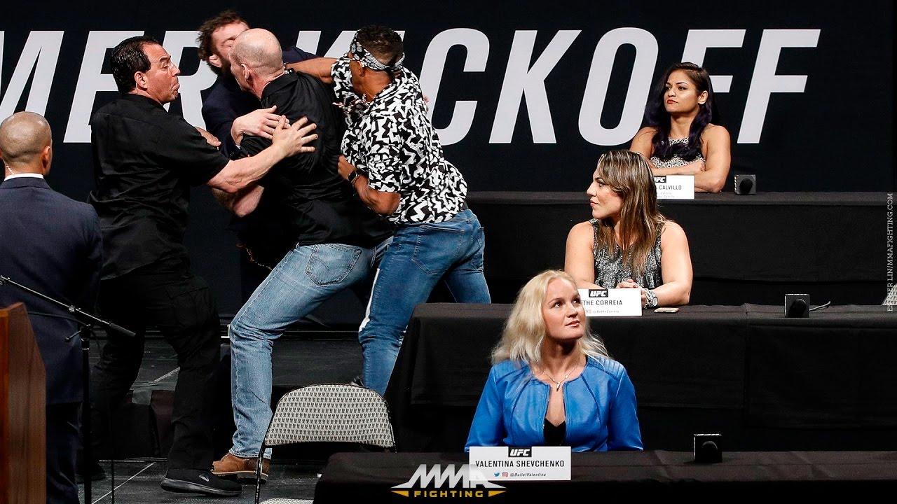Resultado de imagen para youtube video Conor Mcgregor hiere al peleador Michael Chiesa