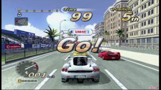OutRun 2006: Coast 2 Coast - Ferrari Race   Original Xbox Game Night