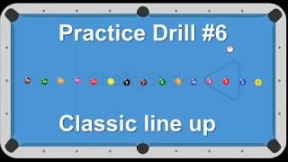 Billiard Drill #6: Classic Line Up - Venom Trickshots